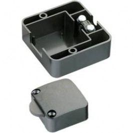 Krabicový spínač s přídavným krytem - černý