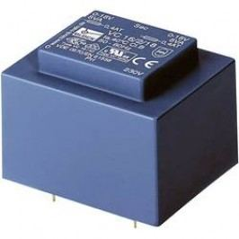 Transformátor do DPS Block EI 48/16,8, 230 V/2x 15 V, 2 x 333 mA, 10 VA