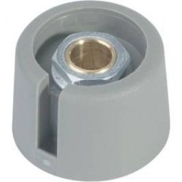 Kombinovaný knoflík OKW A3031068, 6 mm, šedá