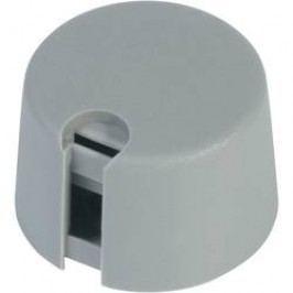 Ovládací knoflík OKW, Ø 20 mm x V 16 mm, 6 mm, šedá