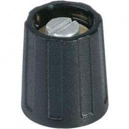 Otočný knoflík s ukazatelem OKW, Ø 13,5 mm, 6 mm, černá