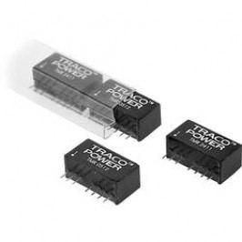 DC/DC měnič TracoPower TMR 1222, vstup 9 - 18 V/DC, výstup ±12 V/DC, ±83 mA, 2 W