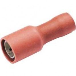 Kulatá dutinka izolační Vogt 3915S, 0,5 / 1 mm², Ø: 4 mm, červená