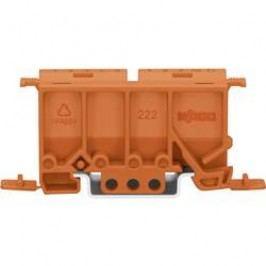 Upevňovací adaptér Wago 222-500 pro sérii 222, oranžová