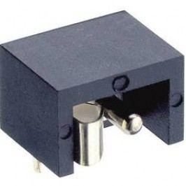 Napájecí konektor Lumberg NEB/J 21, Rozpínač, zásuvka vestavná horizontální, 6 mm