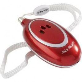 Kapesní alarm DX-A127, 91 dB, červená
