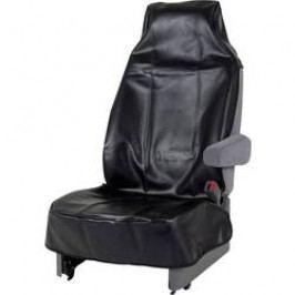Chránič sedáku pro údržbářské práce, délka 139 cm, šířka 60 cm, černá, syntetická kůže