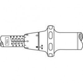 Momentový klíč Hazet System 5000 CT, 5123-1 CT, 12,5 mm, 60 - 320 Nm