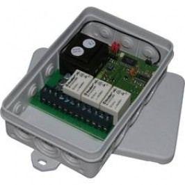 Bezdrátový přijímač SVS, SHR-7 L3, 3kanálový, 1000 m, 433 MHz, 230 V/AC/6 A