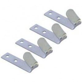 Sada kovových háků, 0410218, 70 x 20 mm, 4 ks