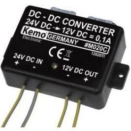 Měnič napětí pro odpuzovače kun Kemo M020C, z 24 na 12 V