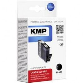 Cartridge KMP C65 = CANON CLI-8, 1503,0001, černá