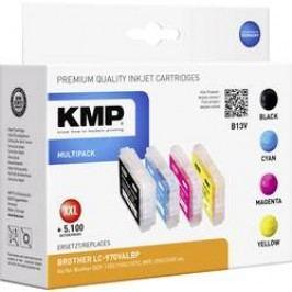 Cartridge KMP B13V, 1060,0050, černá/cyan/magenta/žlutá