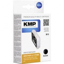 Cartridge KMP B13 = BROTHER LC-970, 1060,0001, černá