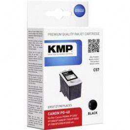 Cartridge KMP CANON PG40 = C57, 1500,4001, černá