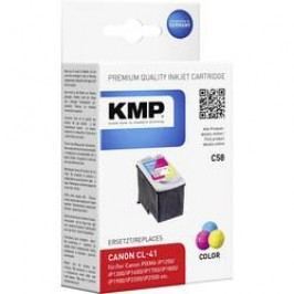 Cartridge KMP CANON CL41 = C58, 1501, 4030, cyanová/magenta/žlutá
