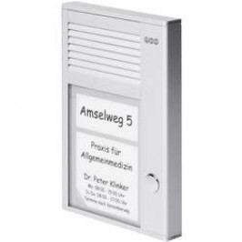 Domácí telefon Auerswald TFS-Dialog 101, 90617, 1 rodina, stříbrná