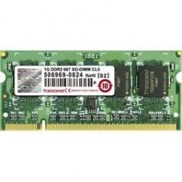Karta Transcend 1GB SO-DIMM DDR2-RAM-667MHZ