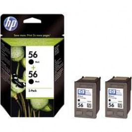 Cartridge do tiskárny HP C9502AE (56), černá, 2 ks