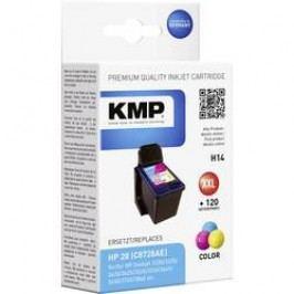 Cartridge KMP HP 28 = H14 0997,4280 cyanová/magenta/žlutá