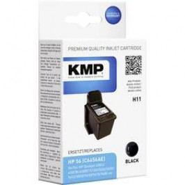 Cartridge KMP = HP 56, H11 0995,4561, černá