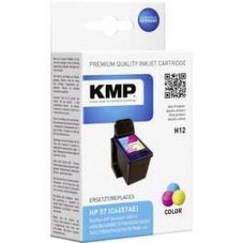 Cartridge KMP HP 57 = H12, 0995,4570, cyanová/magenta/žlutá