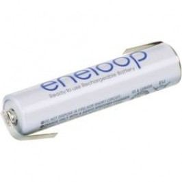 Akumulátor s pájecími kontaktyNiMH Sanyo eneloop AAA, 1,2 V , 800 mAh
