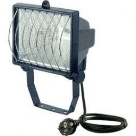 Venkovní halogenový reflektor Brennenstuhl H 500, 500 W, vč. kab. a žárovky R7s, černá
