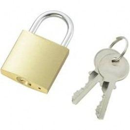 Visací zámek na klíč 110500, 32 mm, mosaz