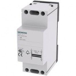 Zvonkový transformátor na lištu Siemens 4AC3208-1, 8+12 V/ 8 W, šedá