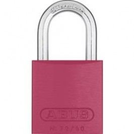 Visací zámek na klíč ABUS ABVS46790, 39 mm, červená