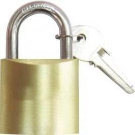 Visací zámek na klíč 754346, 37 mm, mosaz
