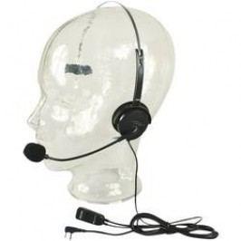 Headset s mikrofonem s husím krkem Alan MA 35L