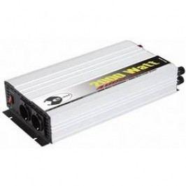 Trapézový měnič napětí DC/AC e-ast HPL 2000-24, 24V/230V, 2000 W