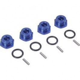 Unašeč kola 12 mm 6-hraný Reely VA1077B, 7 mm, modrý hliník, 4 ks