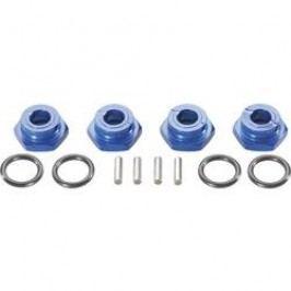 Unašeč kola 12 mm 6-hraný Reely VA1076B, 6 mm, modrý hliník, 4 ks