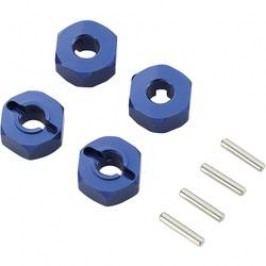 Unašeč kola 12 mm 6-hraný Reely 57816B, 6 mm, 1:10, modrý hliník
