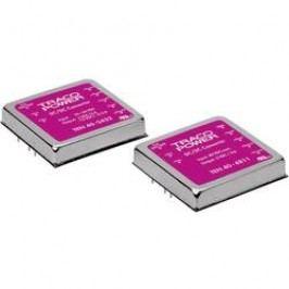 DC/DC měnič TracoPower TEN 40-2422, vstup 18 - 36 V/DC, výstup +12/-12 V/DC, 1,8/1,8 A