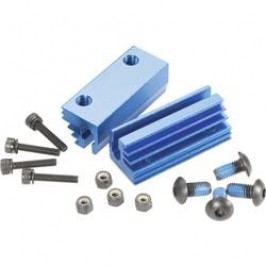 Hliníkový držák motoru Reely, 1:8, modrá (MV3113B)