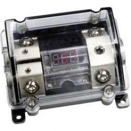 Napájecí rozbočovač v ochraném pouzdře s voltmetrem SinusTec