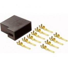 ISO reproduktorová zásuvka AIV, 10 kontaktů