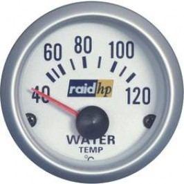 Palubní ukazatel teploty vody Raid Hp Silber-Serie, 660220