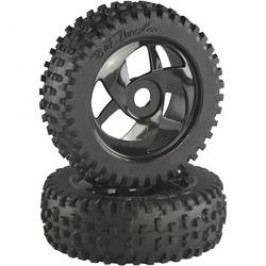 Buggy kolo Absima Multispike, ráfek Twister, 17 mm 6-hran, 1:8, bílá, 2 ks