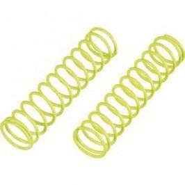 Pružina tlumiče Reely Medium, 80,5 x 1,6 mm, neonově žlutá, 1:8, 2 ks (MV1393Y)