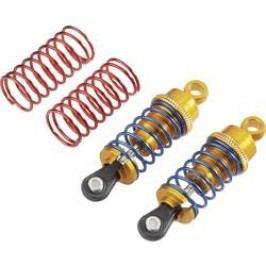 Olejový tlumič Reely, 64 mm, zlatá/modrá/červená, 1:10, 2 ks (58055A)