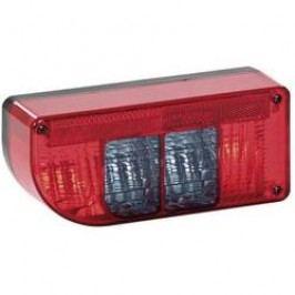 Zadní světlo pro přívěs SecoRüt, 90227, 5komorové, levé, červená/transparentní