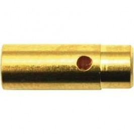 Kontakt pájecí 4 mm Modelcraft, zástrčka a zásuvka, zlacený, 1 pár