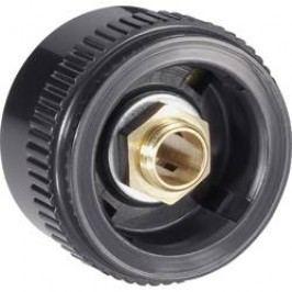 Otočný knoflík Mentor 4133.603, pro sérii 28, 6 mm, černá