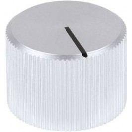 Kovový knoflík Mentor 509.61, 6 mm, matně stříbrná