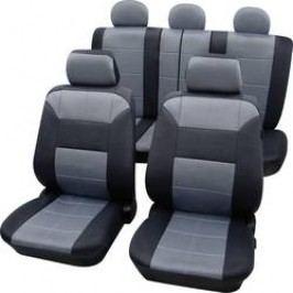 Autopotahy Petex Dakar SAB 1 Vario Plus 22574918, 17dílná, polyester, šedá, černá
